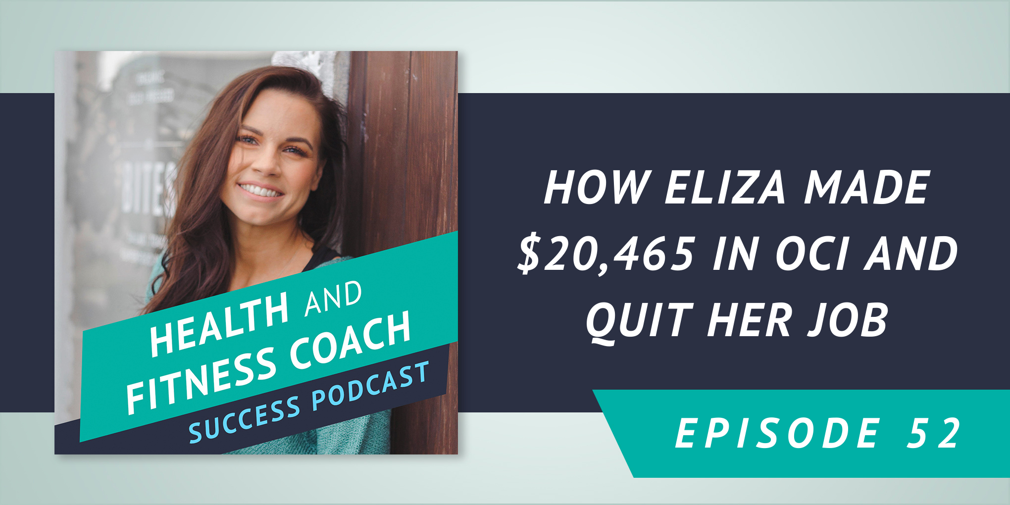How Eliza Made $20,465 in OCI and Quit Her Job